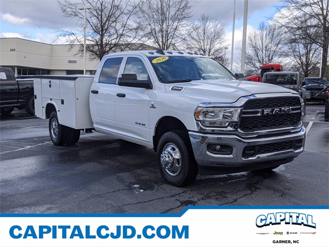 2020 Ram 3500 Crew Cab DRW 4x4, Knapheide Service Body #DTR39448 - photo 1