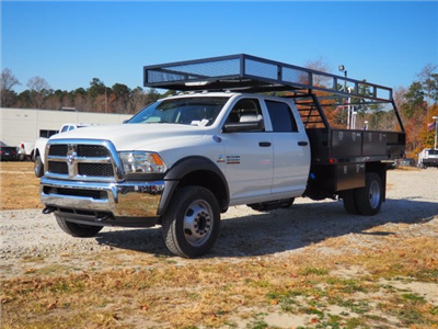 2018 Ram 4500 Crew Cab DRW 4x2,  PJ's Truck Bodies & Equipment Contractor Body #R22451 - photo 4