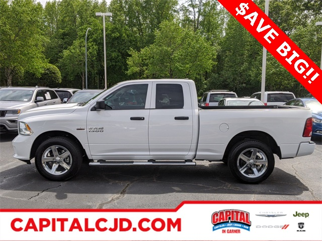 2018 Ram 1500 Quad Cab 4x4,  Pickup #R41845 - photo 9