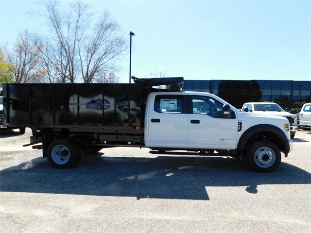 2018 F-450 Crew Cab DRW,  PJ's Truck Bodies & Equipment Landscape Landscape Dump #73923 - photo 3