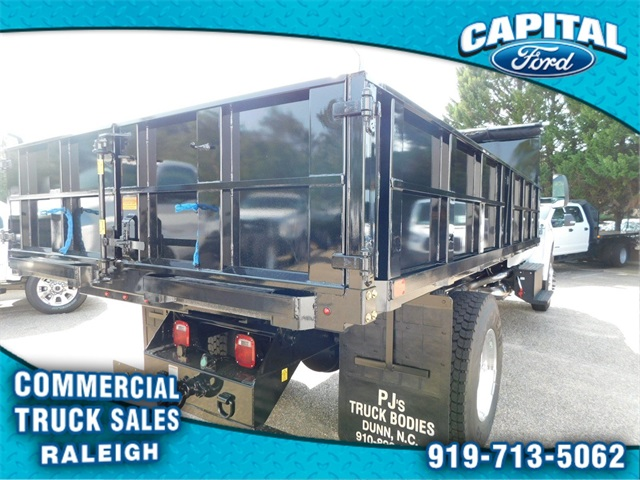 2019 F-750 Regular Cab DRW 4x2,  PJ's Truck Bodies & Equipment Platform Body #CB76801 - photo 2