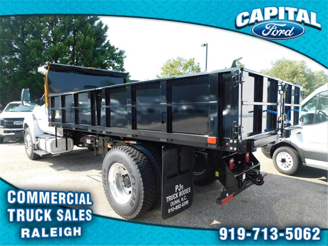 2019 F-750 Regular Cab DRW 4x2,  PJ's Truck Bodies & Equipment Platform Body #CB76801 - photo 5