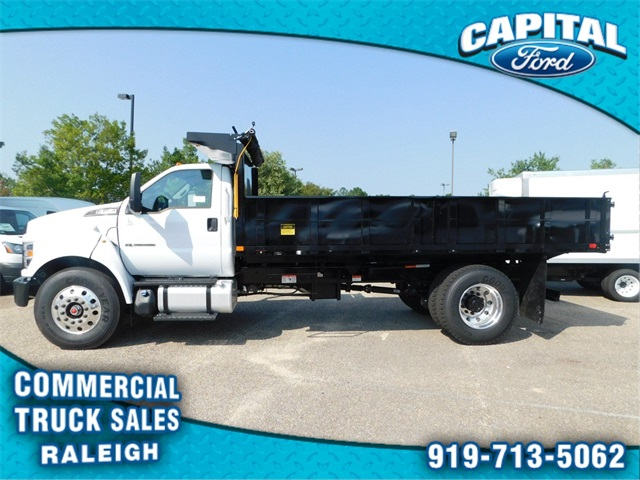 2019 F-750 Regular Cab DRW 4x2,  PJ's Truck Bodies & Equipment Platform Body #CB76801 - photo 6
