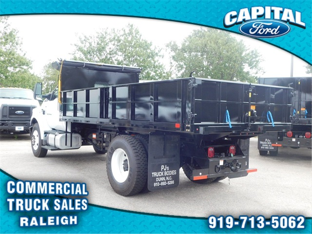 2019 F-750 Regular Cab DRW 4x2,  PJ's Truck Bodies & Equipment Landscape Dump #CB77261 - photo 5