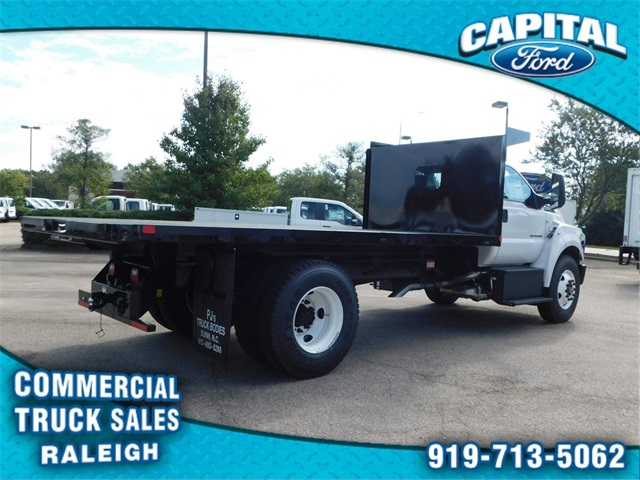 2019 F-650 Regular Cab DRW 4x2,  PJ's Truck Bodies & Equipment Platform Body #CB77378 - photo 2
