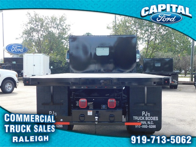 2019 F-650 Regular Cab DRW 4x2,  PJ's Truck Bodies & Equipment Platform Body #CB77378 - photo 4