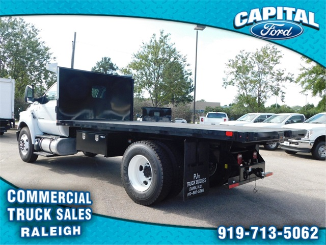 2019 F-650 Regular Cab DRW 4x2,  PJ's Truck Bodies & Equipment Platform Body #CB77378 - photo 5