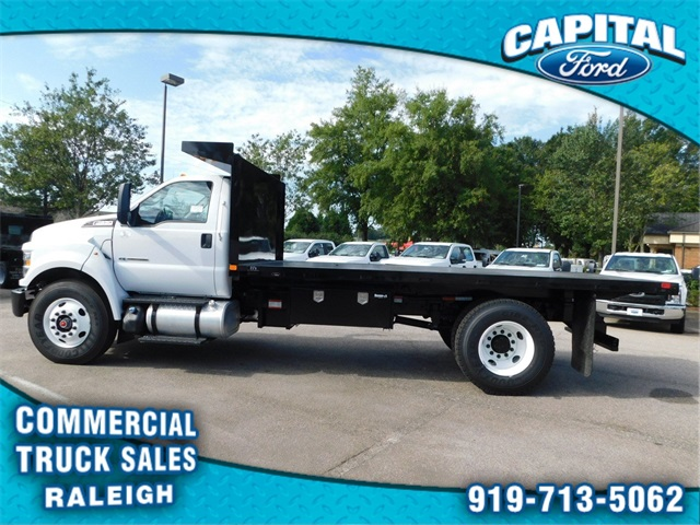 2019 F-650 Regular Cab DRW 4x2,  PJ's Truck Bodies & Equipment Platform Body #CB77378 - photo 6