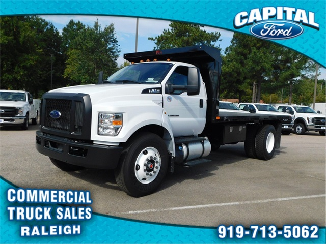 2019 F-650 Regular Cab DRW 4x2,  PJ's Truck Bodies & Equipment Platform Body #CB77378 - photo 7