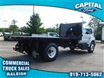 2019 F-650 Regular Cab DRW 4x2,  PJ's Truck Bodies & Equipment Platform Body #CB77378 - photo 1