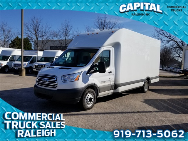 2018 Ford Transit 350 HD Low Roof DRW 4x2, Unicell Cutaway Van #CB89647A - photo 1