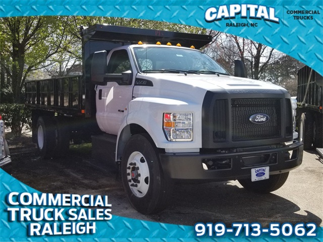 Capital Ford Raleigh >> 2019 F 750 Regular Cab Drw 4x2 Pj S Landscape Dump Stock Cb79811