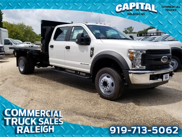 2019 Ford F-550 Crew Cab DRW 4x2, PJ's Platform Body #CB81670 - photo 1