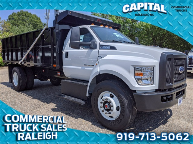 2021 Ford F-650 Regular Cab DRW 4x2, PJ's Platform Body #CB84995 - photo 1