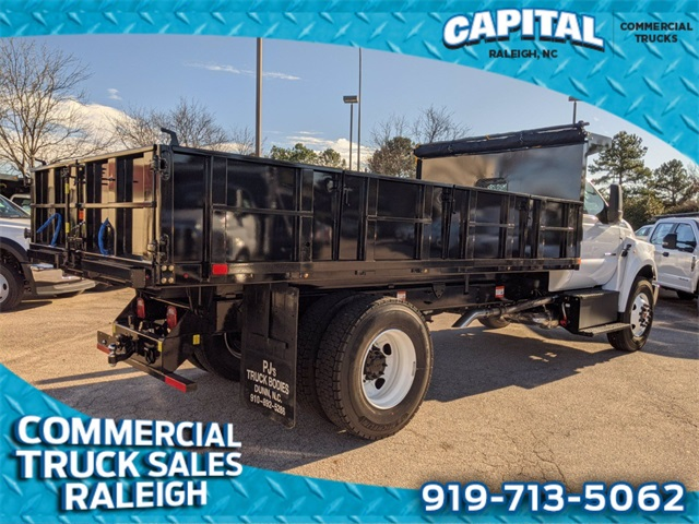 2021 Ford F-750 Regular Cab DRW 4x2, PJ's Dump Body #CB88159 - photo 1