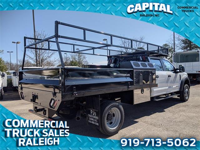 2021 Ford F-550 Crew Cab DRW 4x4, PJ's Platform Body #CB88503 - photo 1
