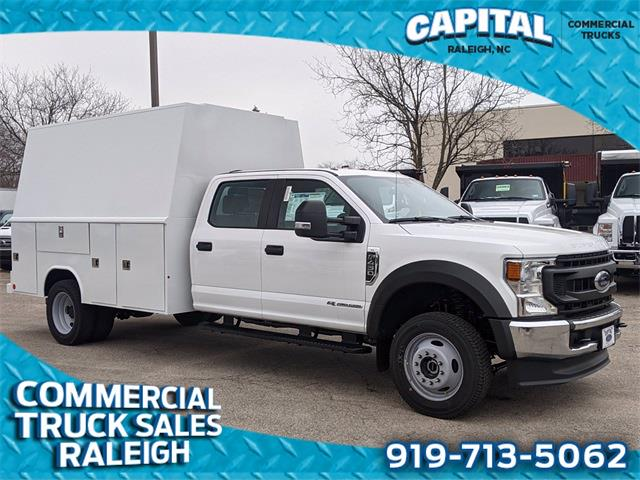 2020 Ford F-450 Crew Cab DRW 4x4, Reading Service Body #CB88755 - photo 1