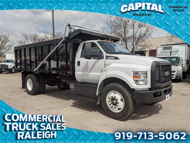 2021 Ford F-650 Regular Cab DRW 4x2, PJ's Landscape Dump #CB88901 - photo 1