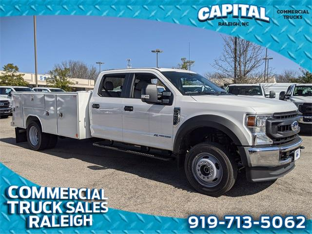 2021 Ford F-550 Crew Cab DRW 4x4, Reading Service Body #CB88987 - photo 1