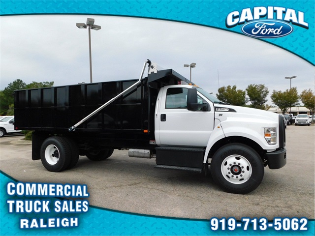 2018 F-750 Regular Cab DRW 4x2,  PJ's Truck Bodies & Equipment Platform Body #CC76522 - photo 3