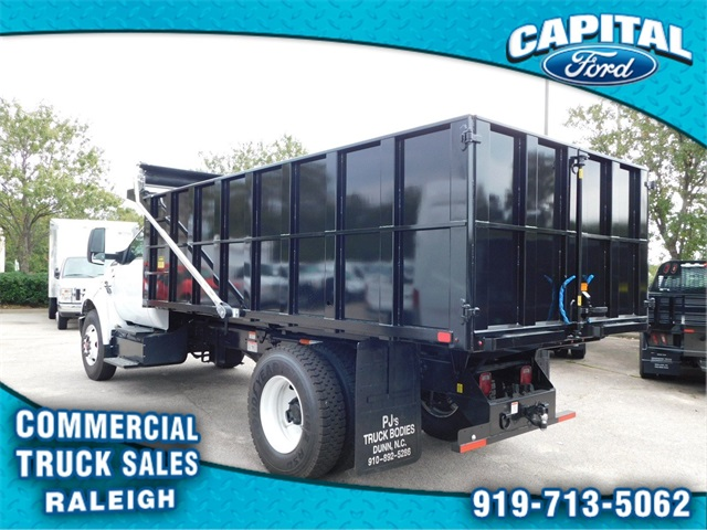 2018 F-750 Regular Cab DRW 4x2,  PJ's Truck Bodies & Equipment Platform Body #CC76522 - photo 5