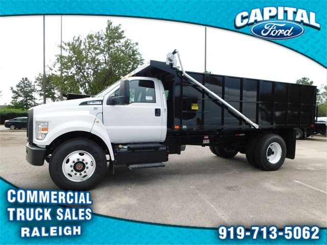 2018 F-750 Regular Cab DRW 4x2,  PJ's Truck Bodies & Equipment Platform Body #CC76522 - photo 6