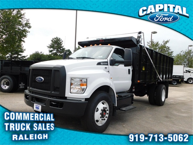 2018 F-750 Regular Cab DRW 4x2,  PJ's Truck Bodies & Equipment Platform Body #CC76522 - photo 7