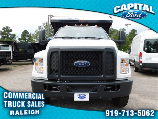 2018 F-750 Regular Cab DRW 4x2,  PJ's Truck Bodies & Equipment Platform Body #CC76522 - photo 8