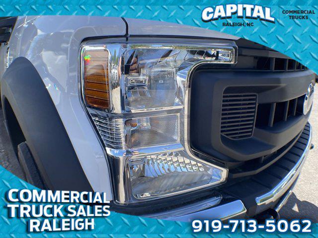 2020 F-550 Regular Cab DRW 4x2,  PJ's Truck Bodies Platform Body #CC87238 - photo 8