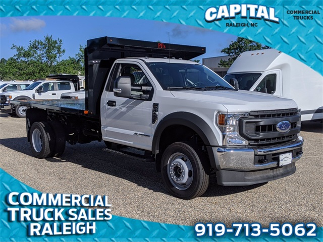 2020 Ford F-450 Regular Cab DRW 4x4, PJ's Platform Body #DT86271 - photo 1