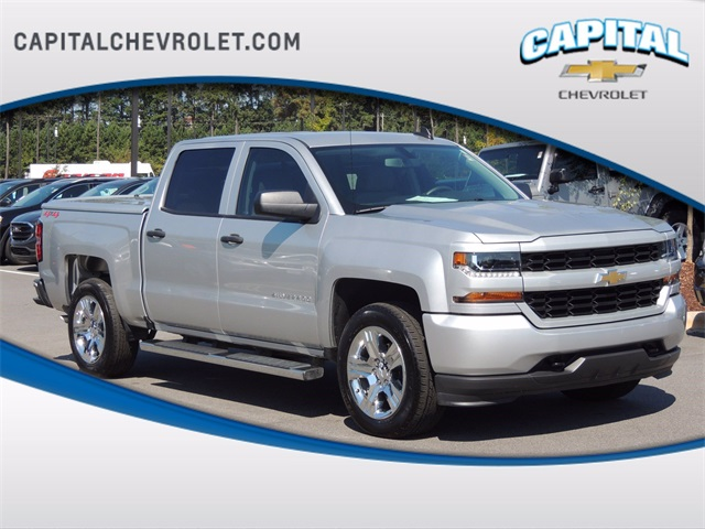 2018 Silverado 1500 Crew Cab 4x4,  Pickup #9C34753 - photo 1