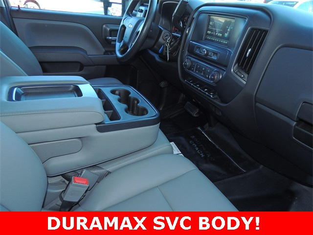 2018 Silverado 3500 Crew Cab DRW 4x2,  Service Body #9C83297A - photo 18