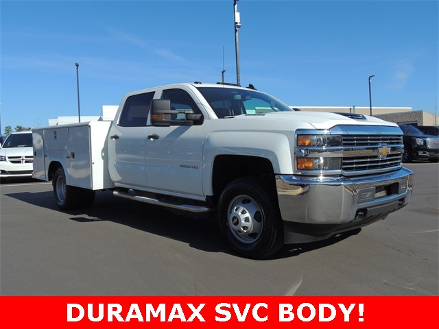 2018 Silverado 3500 Crew Cab DRW 4x2,  Service Body #9C83297A - photo 7