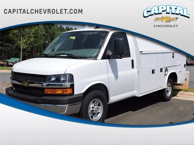 2020 Chevrolet Express 3500 4x2, Knapheide Service Utility Van #9CC03343 - photo 1