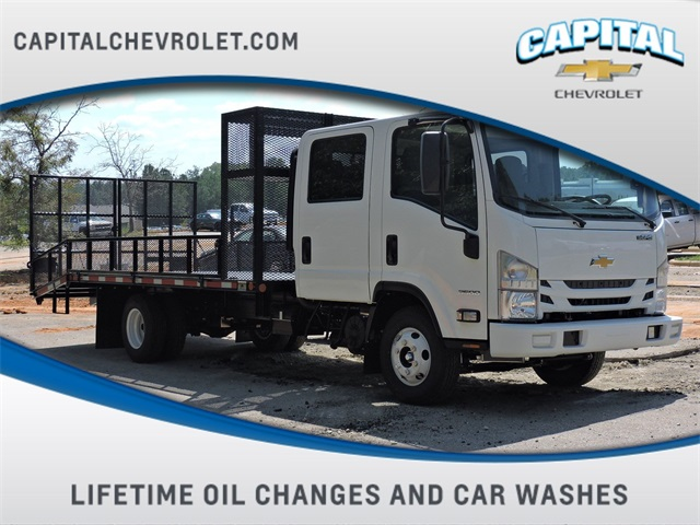 2019 LCF 3500 Crew Cab 4x2,  W & W Body Builders of Columbia Dovetail Landscape #9CC07782 - photo 1