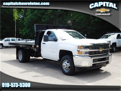 2017 Silverado 3500 Regular Cab DRW, Knapheide Value-Master X Platform Body #9CC08176 - photo 1