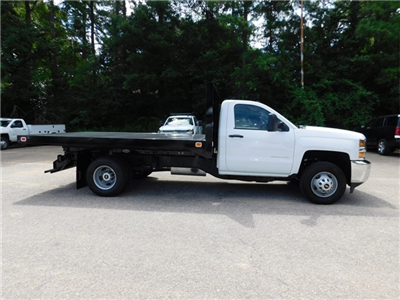 2017 Silverado 3500 Regular Cab DRW, Knapheide Value-Master X Platform Body #9CC08176 - photo 3
