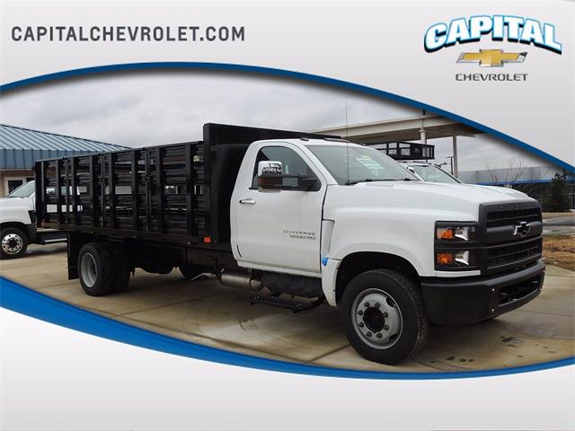 2020 Chevrolet Silverado 6500 Regular Cab DRW 4x2, PJ's Stake Bed #9CC09686 - photo 1