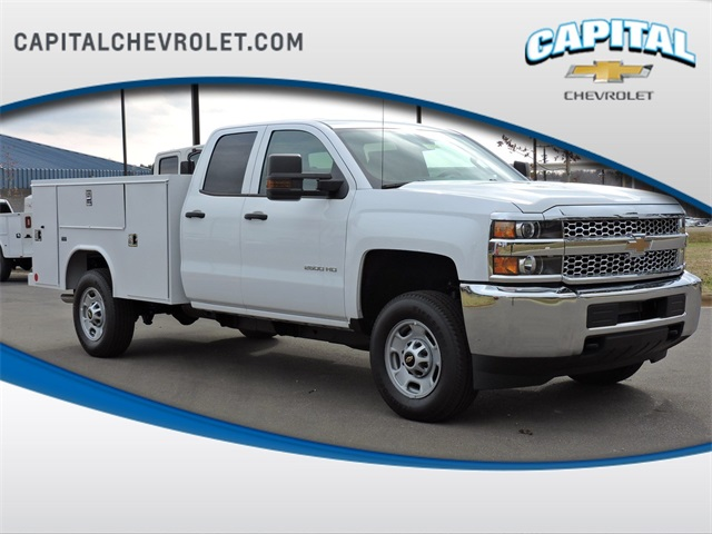 2019 Silverado 2500 Double Cab 4x2, Reading Service Body #9CC18779 - photo 1