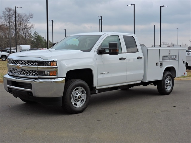2019 Silverado 2500 Double Cab 4x2, Reading Service Body #9CC18779 - photo 4