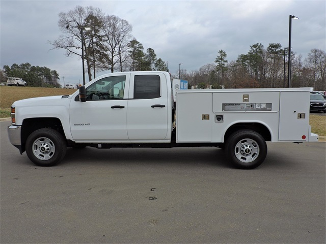 2019 Silverado 2500 Double Cab 4x2, Reading Service Body #9CC18779 - photo 5