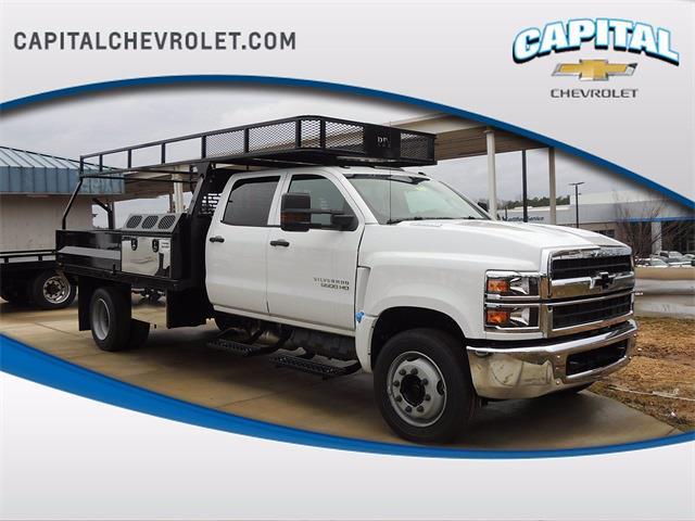 2020 Chevrolet Silverado 4500 Crew Cab DRW 4x4, PJ's Platform Body #9CC24837 - photo 1