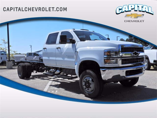 2020 Chevrolet Silverado 4500 Crew Cab DRW 4x4, PJ's Chipper Body #9CC24839 - photo 1