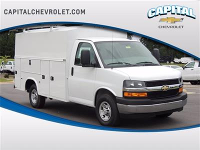 2020 Chevrolet Express 3500 4x2, Knapheide KUV Service Utility Van #9CC28910 - photo 1