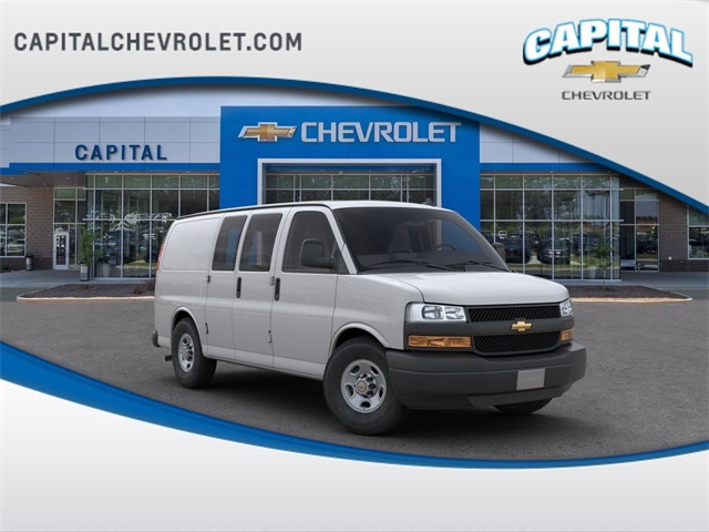 2019 Chevrolet Express 2500 4x2, Masterack Upfitted Cargo Van #9CC35531 - photo 1