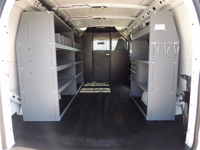 2019 Chevrolet Express 2500 4x2, Masterack Upfitted Cargo Van #9CC36488 - photo 1