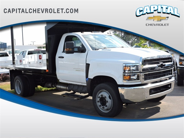 2019 Chevrolet Silverado 5500 Regular Cab DRW 4x2, PJ's Platform Body #9CC49227 - photo 1
