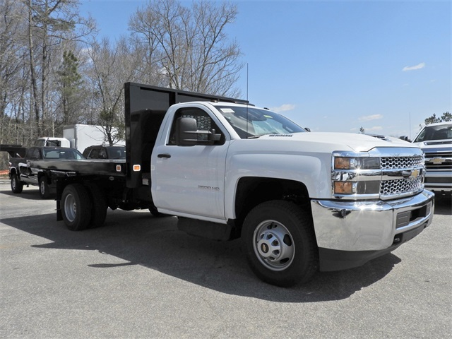 2019 Silverado 3500 Regular Cab DRW 4x4,  Knapheide Platform Body #9CC56635 - photo 1