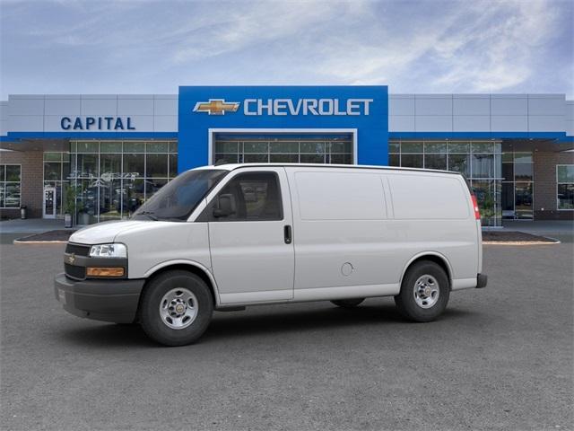 2019 Chevrolet Express 2500 4x2, Masterack Steel General Service Upfitted Cargo Van #9CC66889 - photo 3