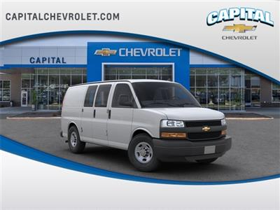 2019 Chevrolet Express 2500 4x2, Masterack Steel General Service Upfitted Cargo Van #9CC66889 - photo 1